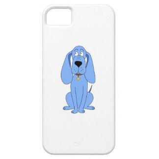 青い犬。 猟犬 iPhone SE/5/5s ケース