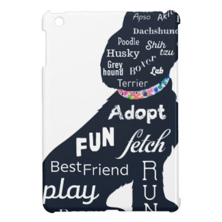 青い犬 iPad MINI カバー