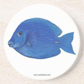 青い独特の味の魚のコースター コースター