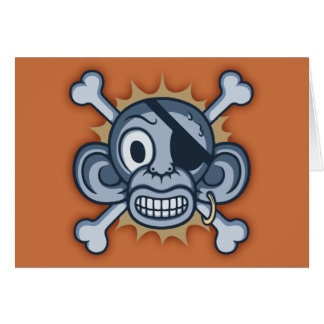 青い猿の海賊 カード