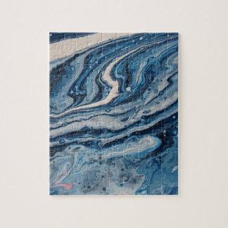 青い瑪瑙 ジグソーパズル