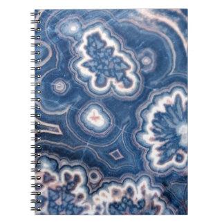青い瑪瑙 ノートブック