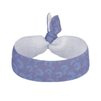 青い疑門符のポップアートの流行の陰 ヘアタイ
