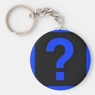青い疑門符情報区域 キーホルダー