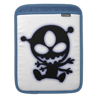 青い白熱外国のiPadの袖 iPadスリーブ