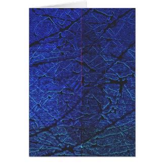 青い皮 カード