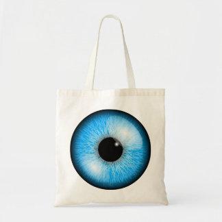 青い目のトートバック トートバッグ