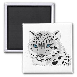 青い目のヒョウの磁石 マグネット