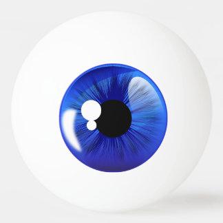 青い目の球のアイリスおもしろいなノベルティのピンポン球 卓球ボール