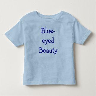 青い目の美しい トドラーTシャツ