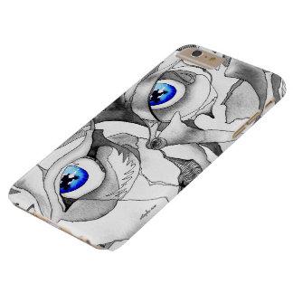 青い目の落書きの芸術 BARELY THERE iPhone 6 PLUS ケース