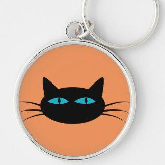 青い目の黒猫 キーホルダー