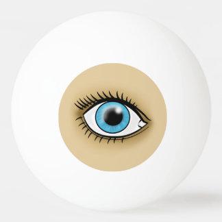 青い目アイコン 卓球ボール