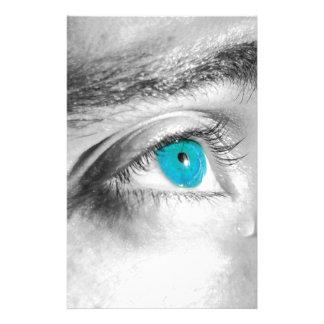 青い目 便箋