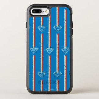 青い盾パターン オッターボックスシンメトリーiPhone 8 PLUS/7 PLUSケース