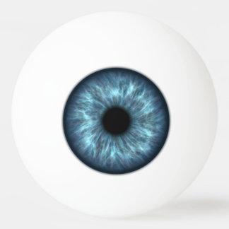 青い眼球のピンポン球 卓球ボール