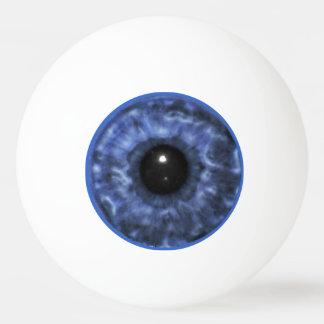 青い眼球 卓球ボール