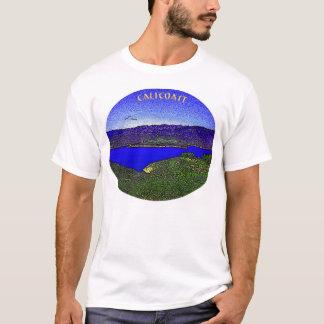 青い礁湖 Tシャツ