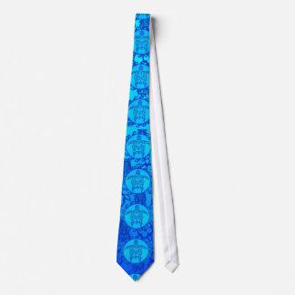 青い種族のカメ日曜日 オリジナルネクタイ
