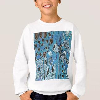 青い種族の土地 スウェットシャツ