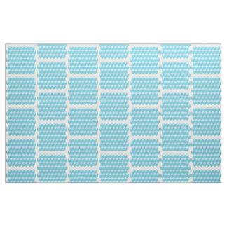青い立方体 ファブリック
