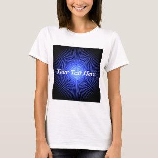 青い精神の円 Tシャツ