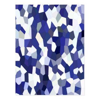 青い紙吹雪 ポストカード
