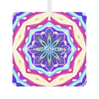 青い紫色の曼荼羅Thunder_Cove カーエアーフレッシュナー