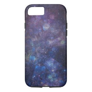 青い紫色の銀河系の曹灰長石のiPhone 7の箱 iPhone 8/7ケース