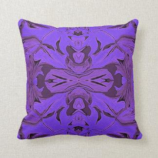 青い紫色 クッション