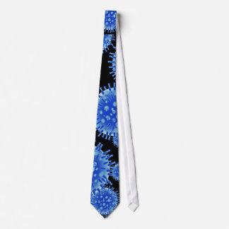 青い細菌 ネクタイ