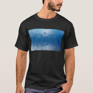 青い網 Tシャツ
