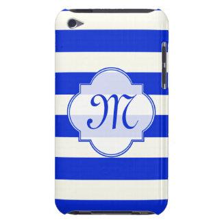 青い縞のファッション Case-Mate iPod TOUCH ケース