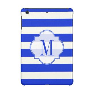 青い縞のファッション iPad MINI RETINAケース