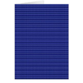 青い縞の質のテンプレートDIYは文字の写真を加えます カード