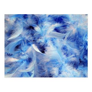 青い羽 ポストカード