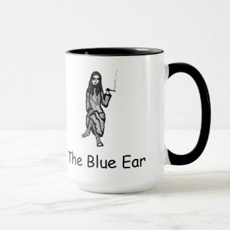 青い耳のマグ マグカップ
