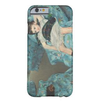 青い肘掛け椅子の小さな女の子、1878年(oi barely there iPhone 6 ケース