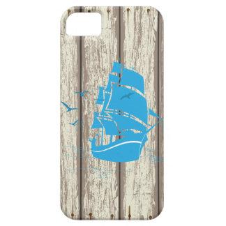 青い船 iPhone SE/5/5s ケース