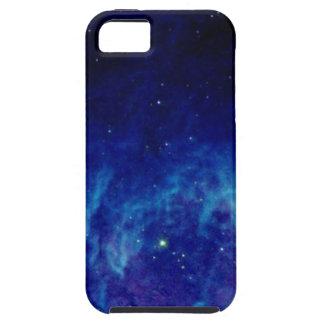 青い色がついた星雲のiPhone 5の箱 iPhone SE/5/5s ケース