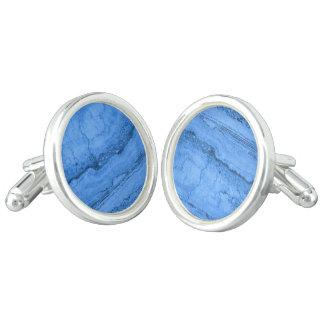 青い花こう岩 カフスリンク