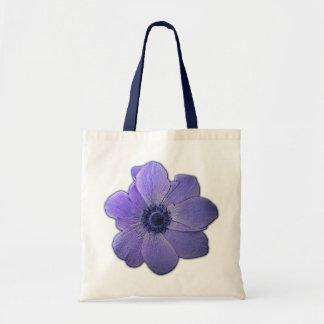 青い花のトートバックの花のビーチのトートバック トートバッグ