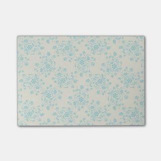 青い花のポスト・イット ポスト・イット®ノート