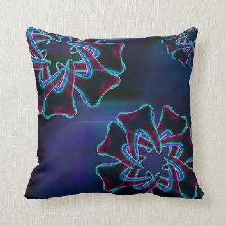 青い花の歯のデザインの歯科医の枕 クッション