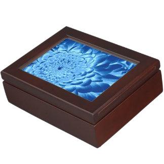 青い花の記念品のギフト用の箱 ジュエリーボックス