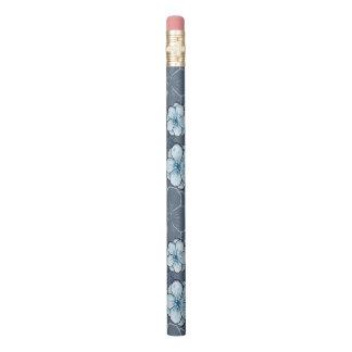 青い花の鉛筆 鉛筆