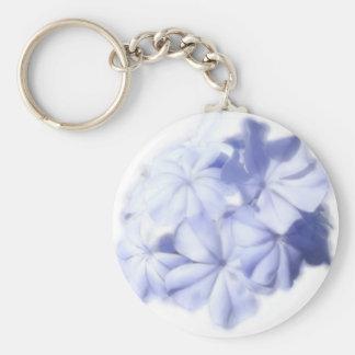 青い花 キーホルダー