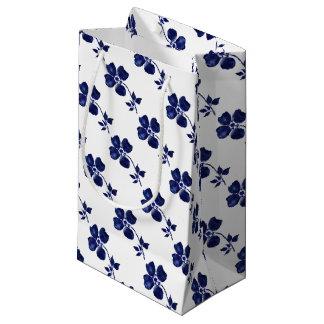 青い花 スモールペーパーバッグ