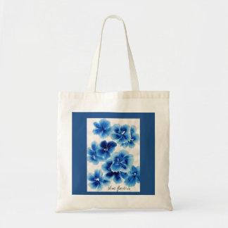 青い花 トートバッグ