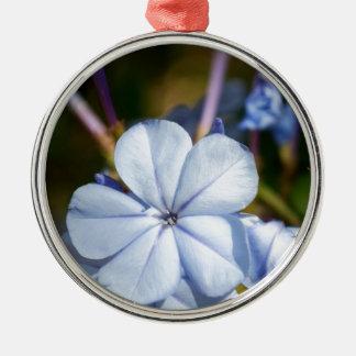 青い花 メタルオーナメント